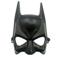 1 Pcs Halloween Demi-Visage Batman Masque Noir Mascarade Parti Dressing Masques Cosplay Masque Costume Party Festival Fournitures 2018