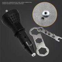 Dado elettrico Rivet Nut Gun Rivettatrice cordless Inserto Dado Adattatore adattatore trapano B00666