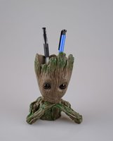Groot 2th Action Figures Guardians of The Galaxy Flowerpot B...