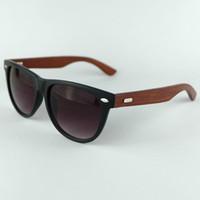 Nuevo Diseñador de Bambú de Madera gafas de Sol de La Vendimia de Madera Para Mujer Retro Vintage Gafas de Verano de moda Unisex gafas 10 UNIDS 5117