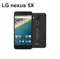 원래 잠금 해제 LG 전자 넥서스 5X H790 H791 H798 3g / 4g Gps 와이파이 NFC 쿼드 코어 2GB 램 16 기가 바이트 롬 5.2 '터치 단장 한 cellPhone
