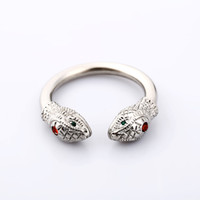 Fashion new Private Design snake penis Ring Snake head style...