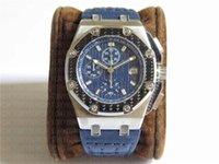 Luxury carbon Watches 26030IO Automatic Cal. 2840 Chronograph...