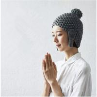 Shakyamuni Buddha Rulai Fo бронзовые улитки / вязаные творческие шапки зимние теплые необычные вязаные шапочки-ушанки шапочка