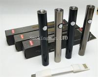 instock max 예열 배터리 380mAh 가변 전압 하부 충전 510 배터리 A4 분무기 두꺼운 오일 기화기 펜 카트리지.