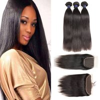 Malaysian Indian Virgin Human Hair Weaves With Lace Frontal ...