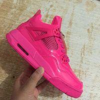 san francisco ff44a ca95a 2018 neue Luft 4 IV Valentinstag Frauen   Kinder Basketball Schuhe hohe  Qualität 4 s Valentinstag