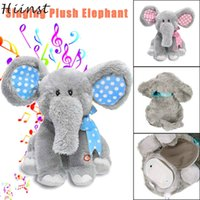 Electric elephant 2017 new fashion Animated Singing Elephant...