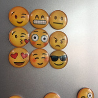 Cheapest!!! emoji Fridge smeil face Magnets Refrigerator Mag...