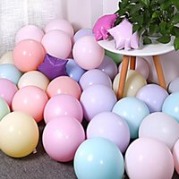 200 Pcs 2. 2g Macaron Latex Balloon Multiple Colour Inflatabl...