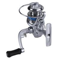 Novo Mais baratos Spinning Fishing Reel 10 Ball Bearing Pesca razão linha Winder velocidade 5.1: 1 com 50m Linha Pesqueiro