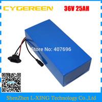 Taxa aduaneira livre 1000 W 1500 W 36 V 25AH bateria 36V li-ion Bateria 36Volt bicicleta elétrica bateria com 50A BMS 42V 2A Carregador