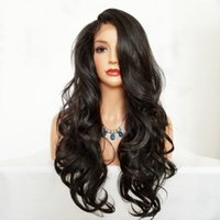 Hot Sexy 150% Density Long Body Wavy Synthetic Lace Wig Glue...