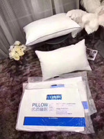 High Quality Hotel Pillow High Resilience Cotton White Simpl...
