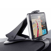 New Car Dashboard Smart Phone Supporto per GPS Supporto Stand Auto morsetto Clip-on Steady Universal Car styling