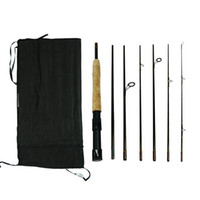2 in 1 Fishing Rod With Convertible Handle 7 Section Exchang...