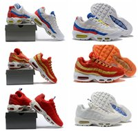 2018 Men Cushion 95 Running Shoes Authentic Sports Shoes For...