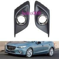 2X / LOT Pour 2014-16 Mazda 3 Axela voiture avant gauche Côté droit Antibrouillards Covers lumière sans builbs