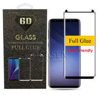 For Samsung Galaxy Note 9 8 S8 S9 Plus S7 Edge Full Adhesive...