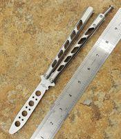 commercio all'ingrosso coltello a farfalla manico in titanio BM49 BM40 BM41 BM42 BM43 BM46 BM47 campeggio caccia coltelli da tasca coltello non sharp spedizione gratuita