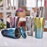 Hot- selling 17oz tumblers chameleon cup diamond vacuum therm...