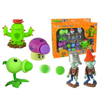 Plants vs Zombies Action Figure Toys Shooting Dolls 5- in- 1 S...