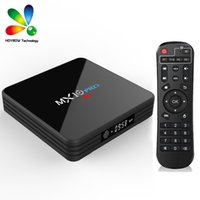 MX10 PRO 4 GB 32 GB Smart-TV-Box Android 9.0 RK3328 4 K Bluetooth 4,1 2,4 G / 5 G Dual WiFi HD Media Player