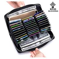 Portafoglio della carta d'identità del credito di credito della grande capacità della grande capacità della grande capacità dell'ID RFID