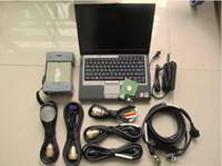Super Vermelho MB Estrela C3 Ferramenta de Diagnóstico com laptop D630 4G 160GB HDD Full Set para Scanner de carro e caminhão