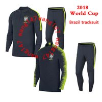 thai quality 2018 2018 brazil Soccer training suit 18 19 D. C...