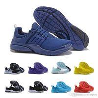 check out 2ce38 222a9 nike roshe free run Nouveau Presto 5 BR QS Hommes Femmes Sneaker Tripel Noir  Blanc Rouge