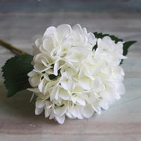 Artificial Hydrangea Flower 6 Head s47cm Fake Silk Flowers H...
