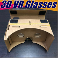 DIY 3D Brille Google Karton VR BOX II Virtual Reality Für 3,5 - 6,0 Zoll Smartphone NEU iPhone X 9 8 B-XY