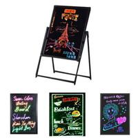 Écriture LED Message Écran Effaçable Néon Effaçable Restaurant Menu Signe avec 8 couleurs Marqueurs DIY Message Tableau