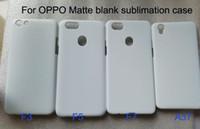 Матовый пустой чехол для OPPO F1s A59 R9S плюс R11S R15 R17 плюс A35 A39 пустой 3d сублимации печати чехол для телефона 10 шт./лот