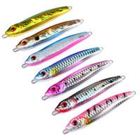 브랜드 100g 10cm 리드 물고기 물고기 낚시 미끼 7Colors 규모 낚시 루어 인공 금속 지그 미끼