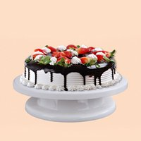 Home & Garden 10 Inch Cake Decorating Tools Plastic Base Cake Stand Sugarcraft Cake Turntable Cupcake Swivel Plate Revolving Tool Spare No Cost At Any Cost
