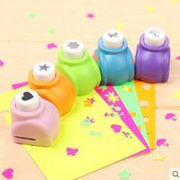 Круг Цветочный пункт DIY Craft Hole Puncher Kids Handmade Craft Подарок Скрапитель Бумага Бумага Скрапбукинг Управляющие Устройство