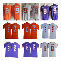 d94d5a0d4f86 13 hunter b4373 59cb3  store clemson tigers 13 hunter renfrow orange  college football jersey clemson tigers 2 kelly bryant 9