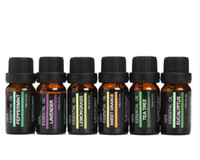 6Pcs set 100% Pure Natural Aromatherapy Oils Kit 10ml For Hu...