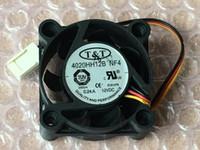 Nueva TT 4020HH12B NF4 12V 0.24A 3Wire ventilador de refrigeración 40 * 40 * 20 mm