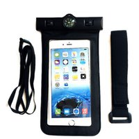 2018 New Waterproof Pouch Bag with Compass Lanyard Arm Band ...