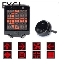 Bike Bicycle Rear Light Wireless Remote Turn Signals Rear Li...