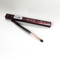 فرشاة شارلوت آي - Smudger - فرشاة ناتشورال ناتشور للعيون سموكي آي بليندينغ كونتور فرشاة - Beauty Makeup Blender Tool