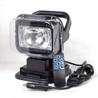 Luces de control remoto HID para automóviles, luces de búsqueda para yates, focos para exteriores, fabricantes de lámparas de techo para vehículos con control remoto, fabricantes al por mayor
