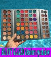 2018 Beauty Glazed Makeup Gorgeous Me Eyeshadow Palette 63 Colors Make up Palette الساحرة Eyeshadow Pigmented Eye Shadow Powder free ship