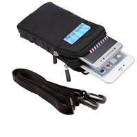 Uniwersalna wielofunkcyjna klips taśmowy torba sportowa Przypadek do ostrych Androida Jeden S3 / R1 / 507SH / B2 / X4 / E-P1 / A2 Lite / PI / X1 / LUNA S / Z3 / MS1 / Z2 / M1