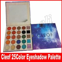 CLEOF cosmetics shadows 25 colors eyeshadow palette beauty D...
