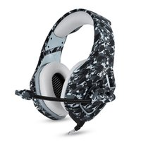 Per PS4 Xbox One Wired Gaming Headphone Headset Camouflage 3.5mm Cuffie da gioco auricolari con microfono per PC Computer portatile iPhone Samsung
