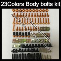 Verkleidungsschrauben Full Screw Cit für Kawasaki Ninja ZX6R 94 95 96 97 ZX-6R 6 R ZX 6R 1994 1995 1996 1997 Körpermuttern Schrauben Nussschrauben Kit 23 Farben